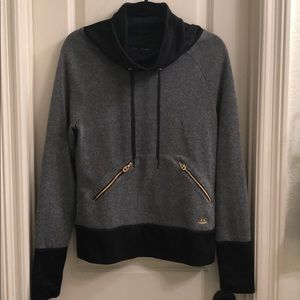 UA semi fitted cowl neck pullover